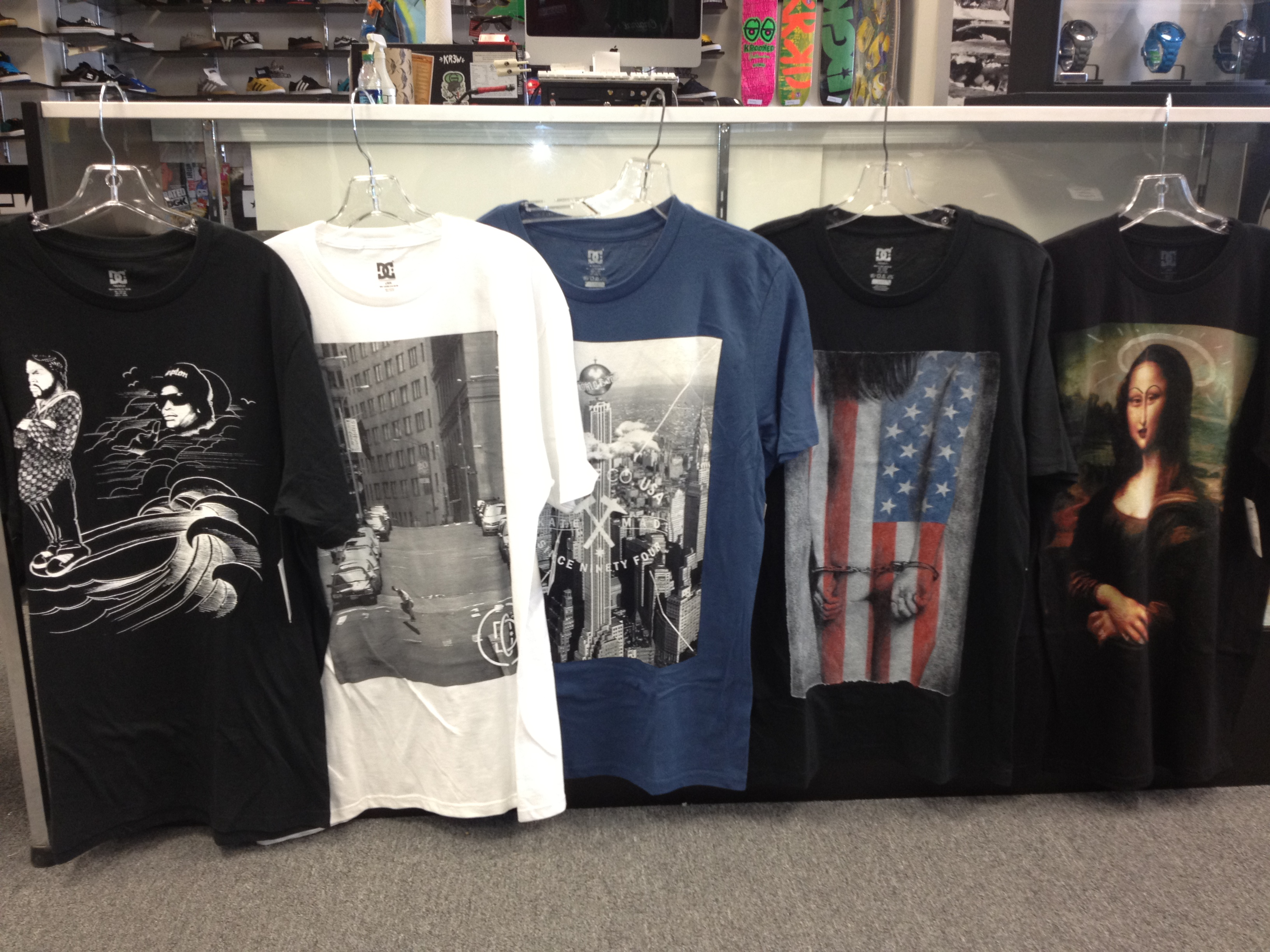 New T Shirt Designs From Dc Central Board Shop